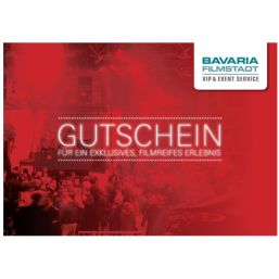 VIP Gutschein Kombiprogramm Bavaria Filmstadt
