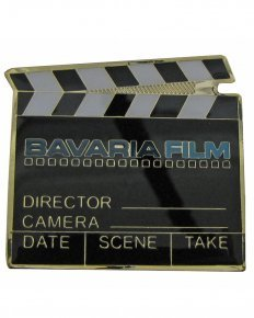 Bavaria Film Filmklappe Pin