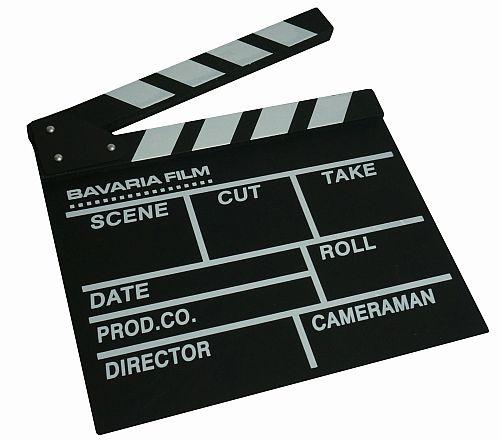 Bavaria Film Filmklappe gross