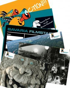 Bavaria Filmstadt Postkarten