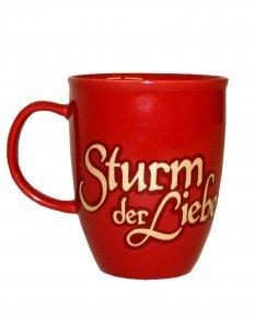 \'Sturm der Liebe\' Tasse mit Glitzer