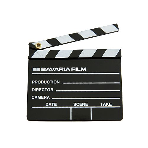 Bavaria Film Filmklappe Magnet plastik