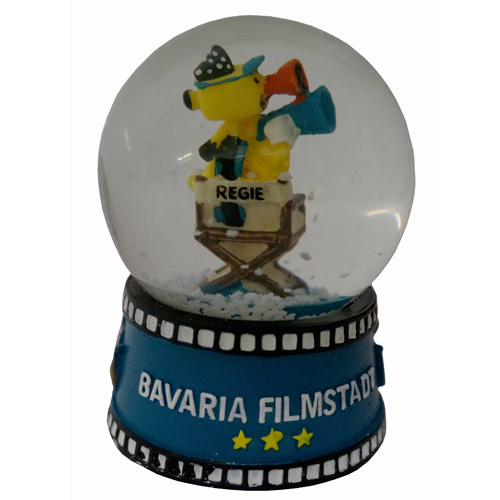 \'Bavaria Filmstadt / Rolli\' Schneekugel