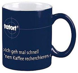 Tatort Tasse Kaffee recherchieren